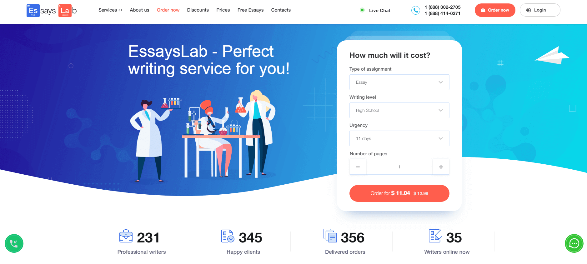 EssaysLab.com Review