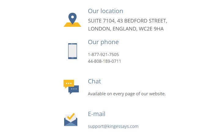 KingEssays.com Support