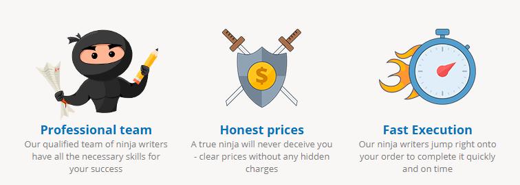 ninjaessays price