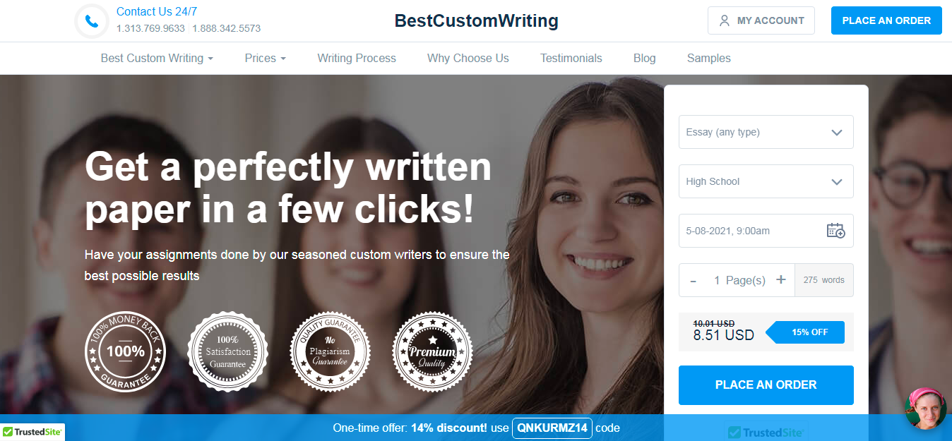 BestCustomWriting.com Review: Essential Remarks