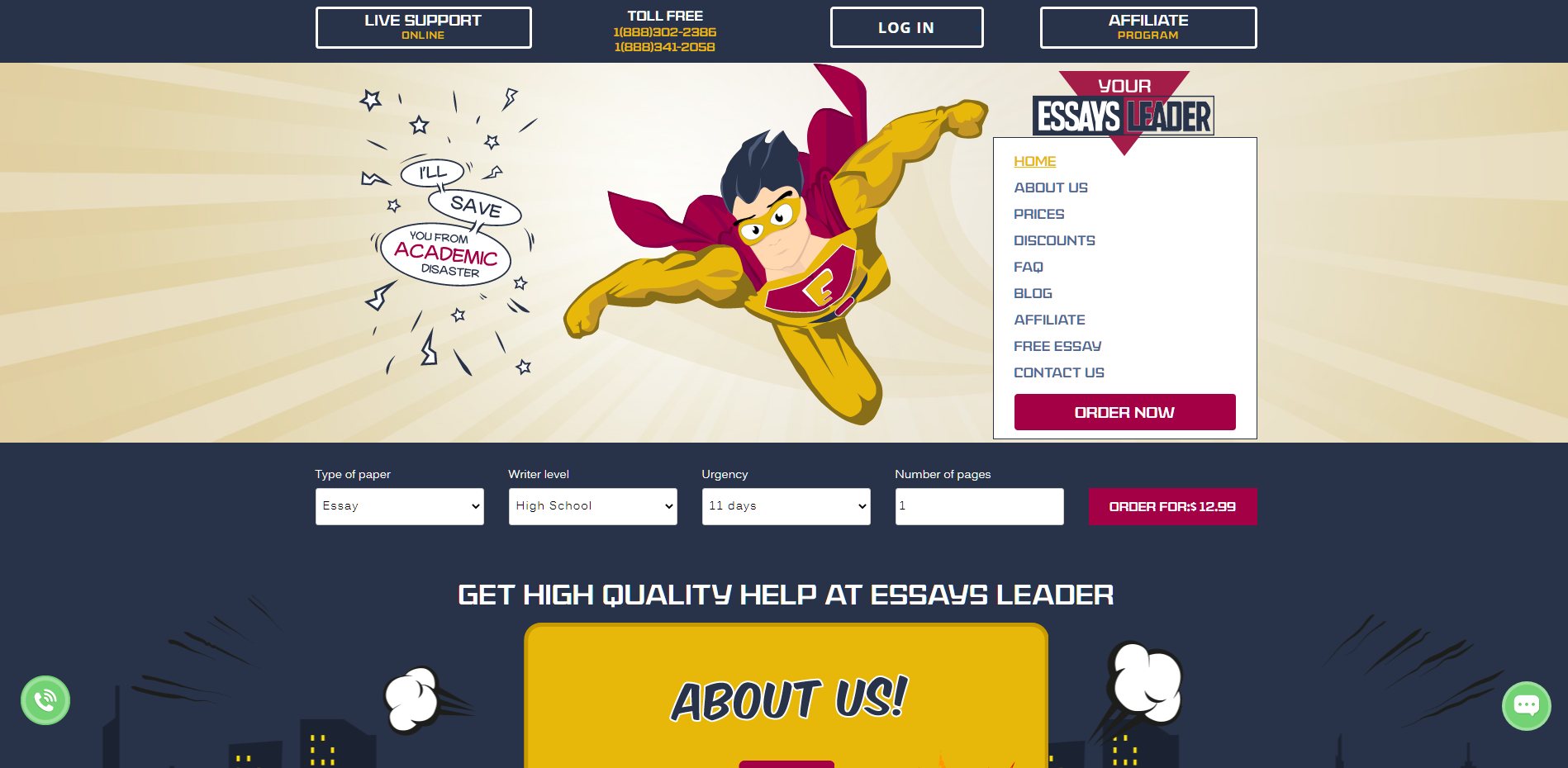 Essaysleader Review