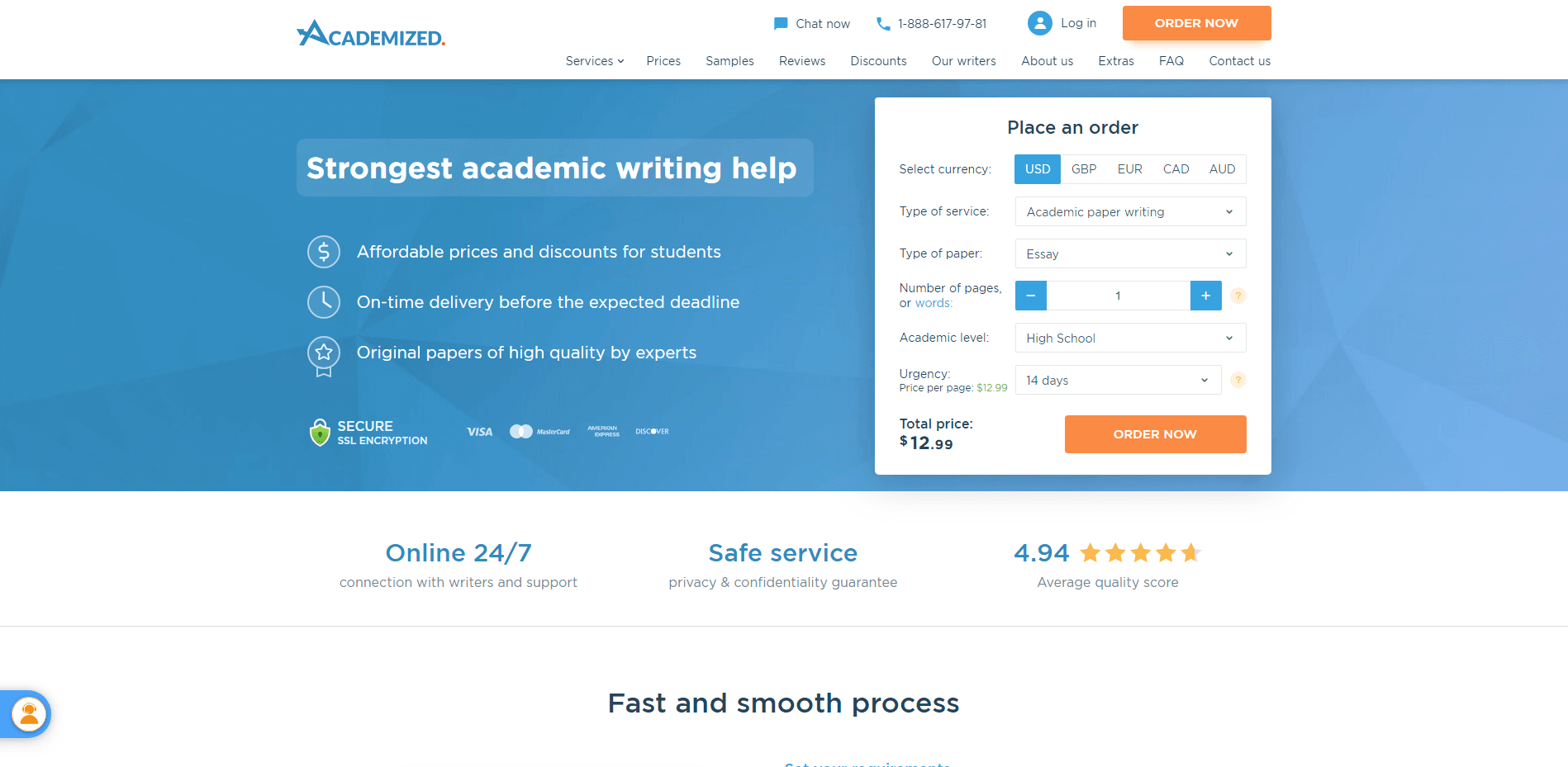 Academized.com Review